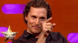 Matthew McConaughey's Mum Wants To Remake The Graduate   The Graham Norton Show