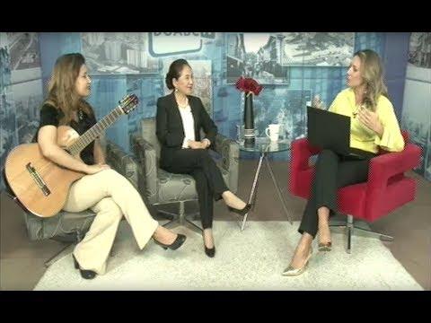 Chieko Aoki aborda liderança feminina com a jornalista Juliana Bontorim