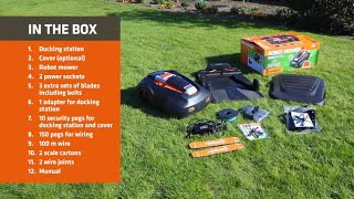 Watch MowRo by Redback RM24 Quick Start Guide - Set-up Instructions