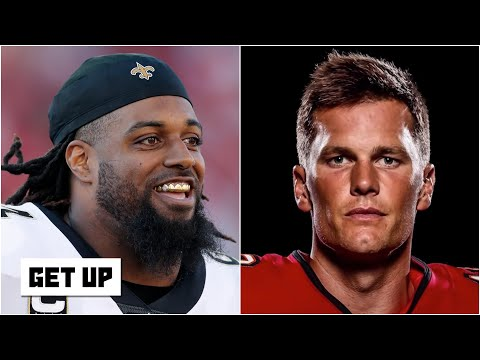 Saints' Cam Jordan says Brady & the Bucs are 'fighting for second place' in the NFC South | Get Up