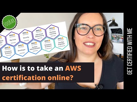 HOW TO TAKE ANY AWS CERTIFICATION FROM HOME [my ...