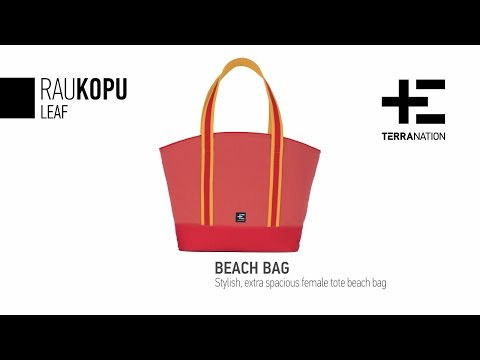 With the Rau Kopu beach bag by Terra Nation you are ready for summer!