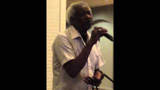 "Fred Oliver singing ""What will my Mary say"""