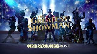 The Greatest Showman Cast - Come Alive (Instrumental) [Official Lyric Video]