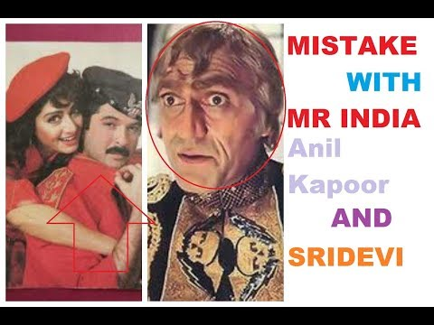 Plenty Mistake With Mr India Anil Kapoor Sridevi Amrish Puri