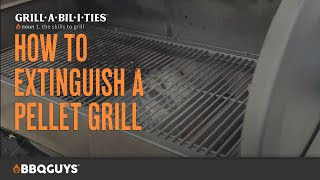 How to Turn Off a Pellet Grill | How to Grill with Grillabilities from BBQGuys