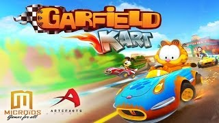 Garfield Kart video