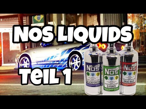 YouTube Video zu NOS G-Force ShortFill Premium Liquid 50 ml