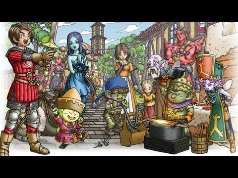Second trailer pour la version Wii U  de Dragon Quest X