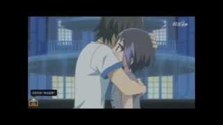 Pretty Rhythm Rainbow Live - Episode 26 - Ito Suzune and Kouji Mihama - Kiss Scene