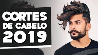 CORTES De CABELO MASCULINO Para 2019   Tendências!