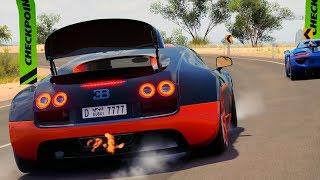 Forza Horizon 3 Bugatti Veyron Goliath Race Gameplay