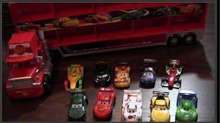 Sprechener Disney Pixar Cars Truck Mack & 10 Die Cast Carrier ♥ Review & Vorführung