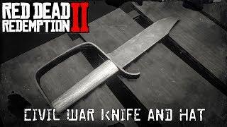 Red Dead Redemption 2 - Civil War Knife - Civil War Hat