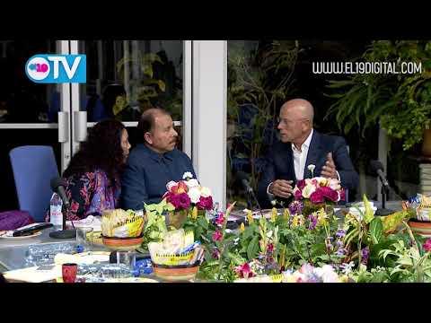 Daniel y Rosario se reúnen con Presidente del Grupo LR