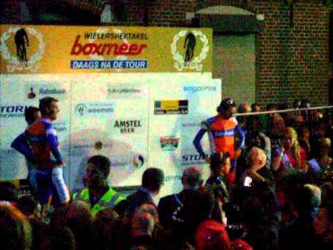 Huldiging ronde Boxmeer 2011: Daags na de Tour