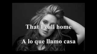 Adele - Hidding my heart away (Sub. Español-Ingles)
