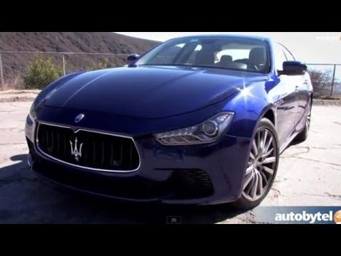 2014 Maserati Ghibli Road Test Video Review