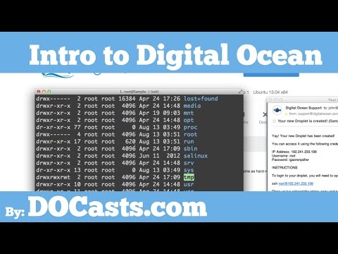 Getting Started With Digital Ocean Tutorial – by DOCasts.com