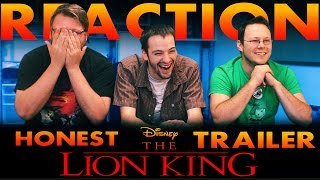 Lion King Honest Trailer REACTION!!