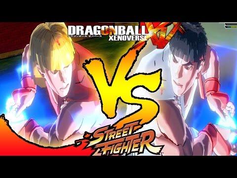 Ken VS Ryu - Dragon Ball Xenoverse VS Street Fighter Mod