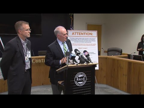 OLCC-OHA press conference on flavored vape ban, October 11, 2019