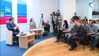 Андрей Никитин ответил на вопросы представителей СМИ