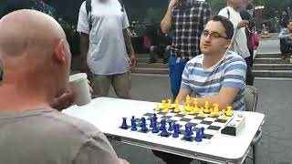 International master vs New york chess hustler, who would win?!