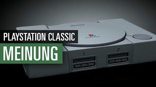 PlayStation Classic MEINUNG | Das sagt die Redaktion zu Sonys Miniatur-Konsole