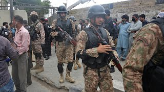 video: Seven killed in Pakistan Stock Exchange attack
