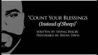 "Irving Berlin's ""Count Your Blessings (Instead of Sheep), Cvr by: Bryan Davis"