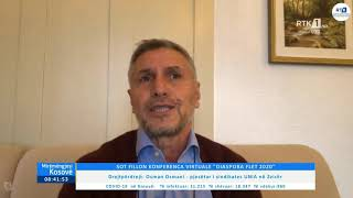 Mirëmëngjesi Kosovë - Drejtpërdrejt - Osman Osmani 19.11.2020