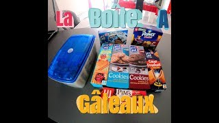 *VLOG Bonus* - On Rempli La Boite A Gâteaux !!!