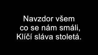 Óda na Kometu Brno-Text