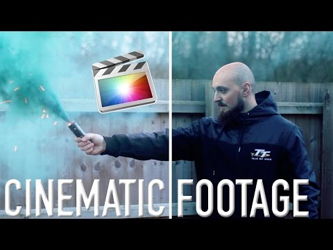 How to Make your footage Cinematic | Final Cut Pro Tutorial