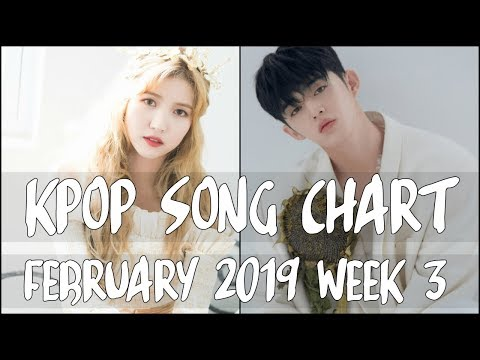 KPOP SONG CHART 2019 | FEBRUARY WEEK 3