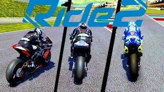 Moto Stradale vs Superbike vs MotoGP - Ride 2