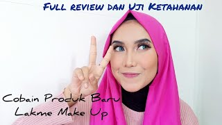 Lakme moonlit highlighter II Lakme Make Up II Review dan uji ketahanan