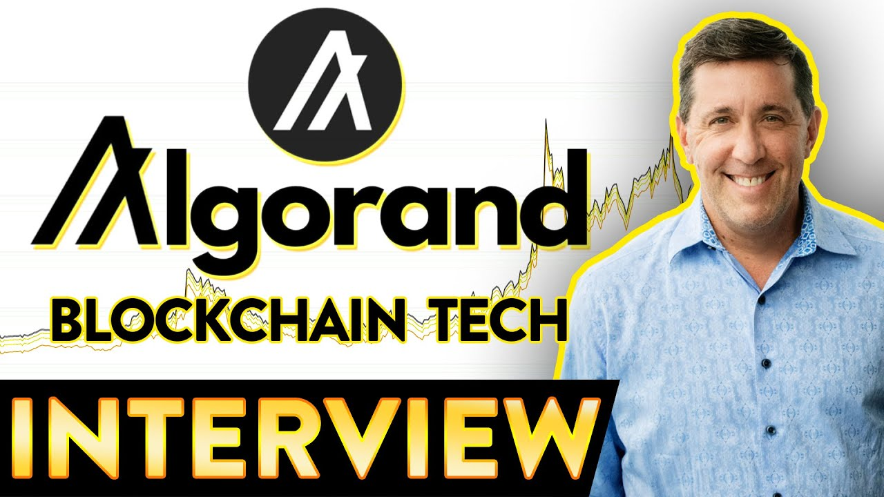 Algorand interview   The Future of Finance   ALGO 📈