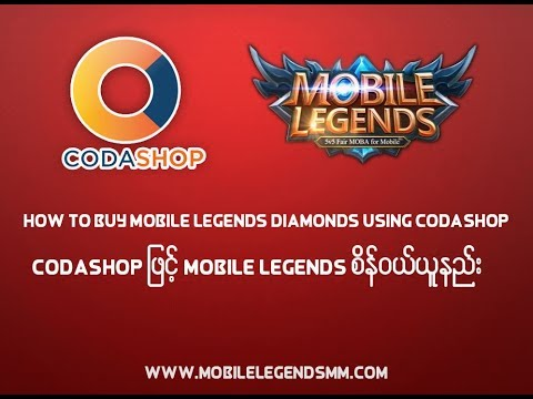 How To Buy Mobile Legends Diamonds using Codashop