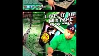 Live It Up MixTape By Dj Acon Reggae Night Crew Foundation Sound 2013