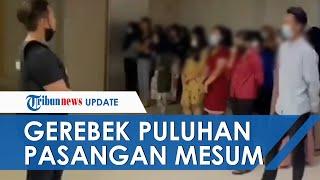 Detik-detik Polisi Gerebek Puluhan Pasangan Mesum di Hotel: Kondom Siapa Ini Kok Sudah Terbuka