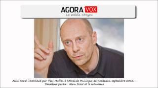 Alain Soral : Satanisme, élites sataniques (Interview par Paul Moffen - sept 2011)