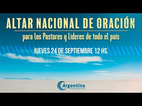 52. Altar Nacional de Oración | Jueves 24/09