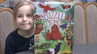 Puzzle Memo (Drei Hasen i.d.A.) 5 Jahre - Hinw.: streng genommen nachziehen bei passendem Plättchen