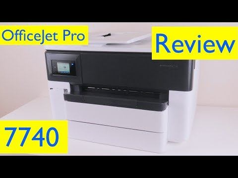 HP OfficeJet Pro 7740 Review – Wireless Wide Format All-in-One Printer