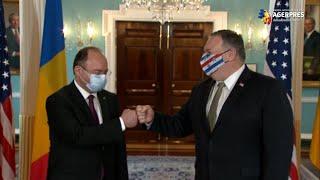 Aurescu - întâlnire cu Pompeo la Washington; discuţiile au vizat angajamentul României de a continua investiţiile în Apărare şi cooperarea energetică