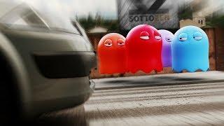 Pac Man in Real Life - Prank!