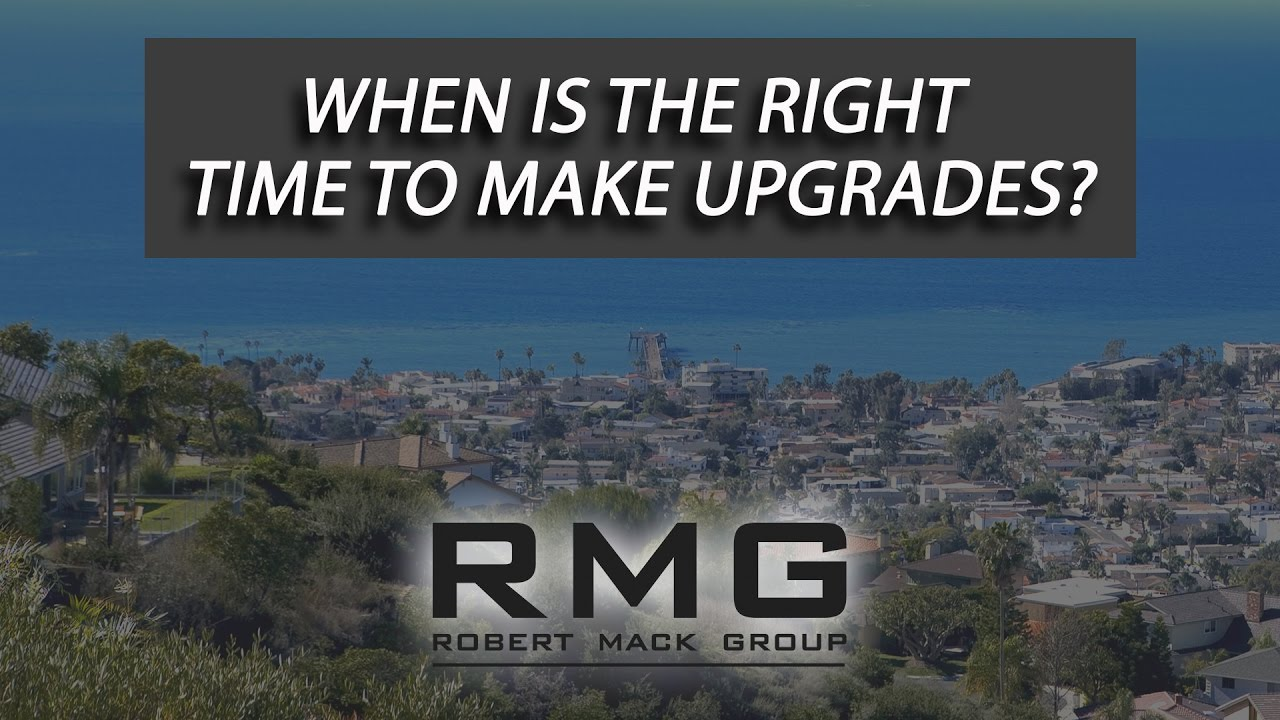 When Is the Right Time to Make Upgrades?
