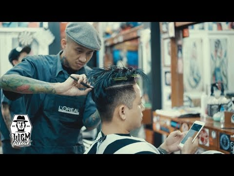 OIS People & Places Liem Barber Shop Story of The Two
